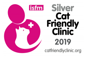 Cat Friendly Clinic Silver Badge
