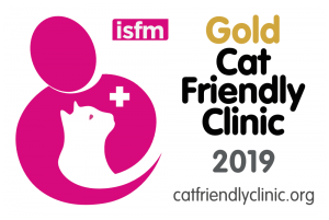 Cat Friendly Clinic Gold Badge